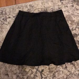Black tobi skirt